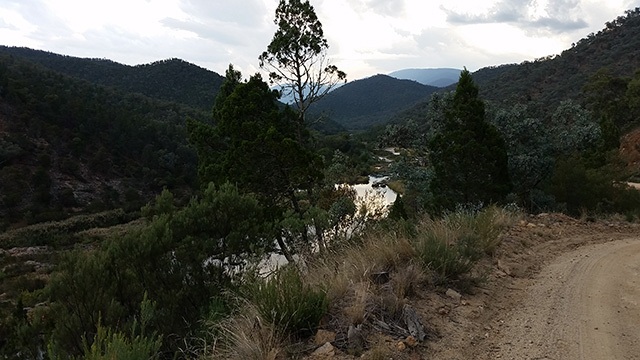 The Snowy River from Barry Way