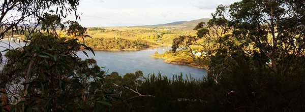 Jindabyne from the Mill Creek Trail