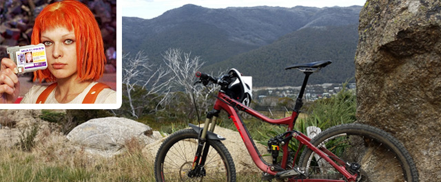 Thredbo mountain bike view